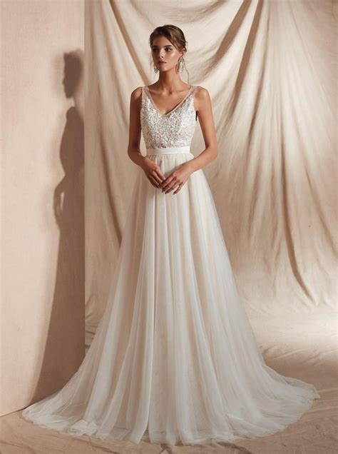 Simple Short Summer Wedding Dresses