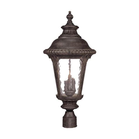 Post Light Fixture Acclaim Lighting Surrey Collection 3 Light Outdoor Black Coral Post Light Fixture 7227bc The