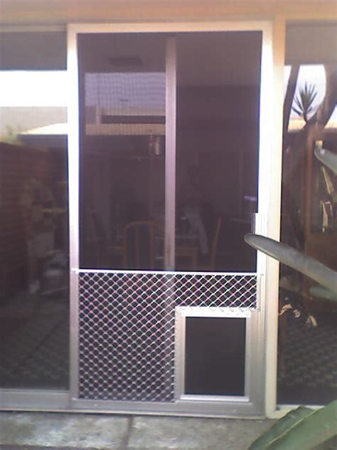 patio screen door pet protector screen doors
