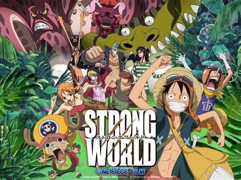 One Piece Film X Strong World | one piece strong world bxerblog