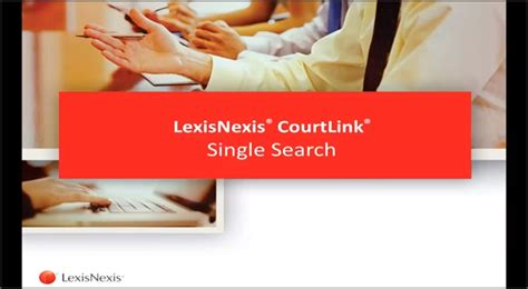 Lexisnexis Records Search Lexisnexis Courtlink On Demand Court Records Court Search