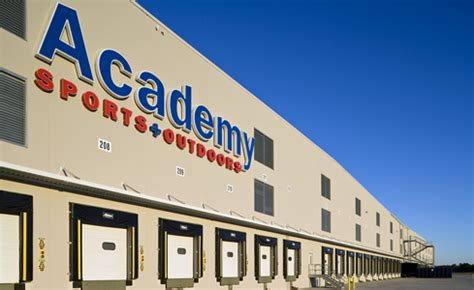 academy sports and outdoors mesquite distribution center construction from gray construction