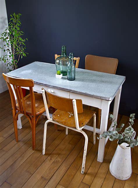 table de cuisine vintage table de cuisine vintage style ferme mes petites puces