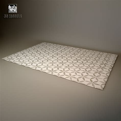 3d model rug carpet rug company 3d model