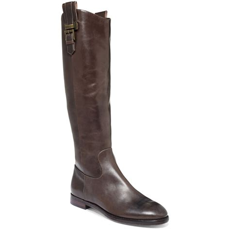 joan david havyn boots in brown brown