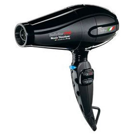 Babyliss Hair Dryer With Comb babyliss pro portofino nano titanium hair dryer black buy at ry