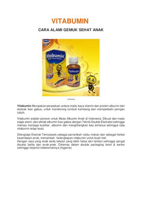 Vitabumin Asli Herbal Ikan Gabus Penambah Nafsu Makan Anak vitabumin madu albumin pertama di indonesia meningkatkan nafsu maka