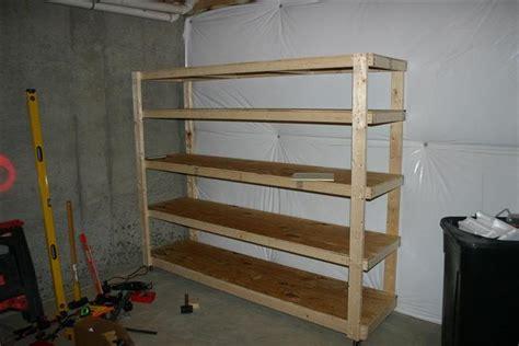 woodwork free storage shelf plans pdf plans