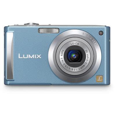 panasonic lumix dmc fs3 blue compact camera review