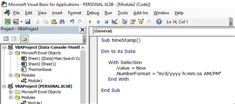 format date vba access top 4 1 ways to insert a timest in excel formula vba