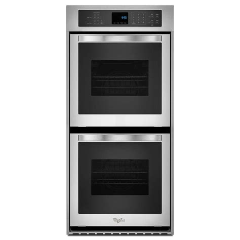 whirlpool 24 in electric wall oven self cleaning