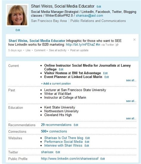 Mba Profiles Linkedin by Image Gallery Linkedin Exles