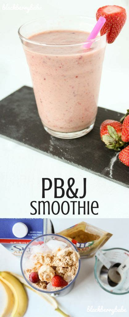 pb j protein smoothie pb j smoothie recipe butter peanuts and protein