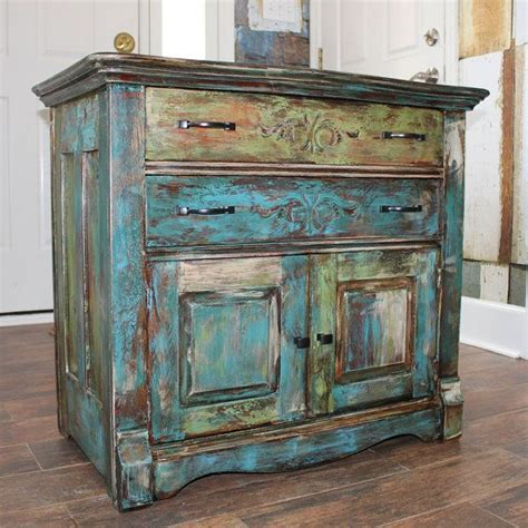 creating distressed wood cabinets only with paint and wax 24 best images about dry sink make over on pinterest