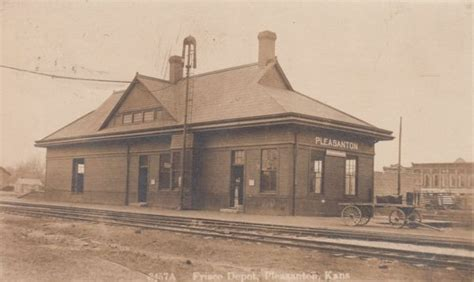 pleasanton kansas depot 187 frisco archive
