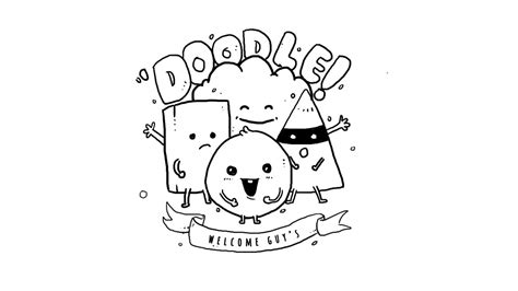 how to doodle for beginners how to draw a doodle for beginners