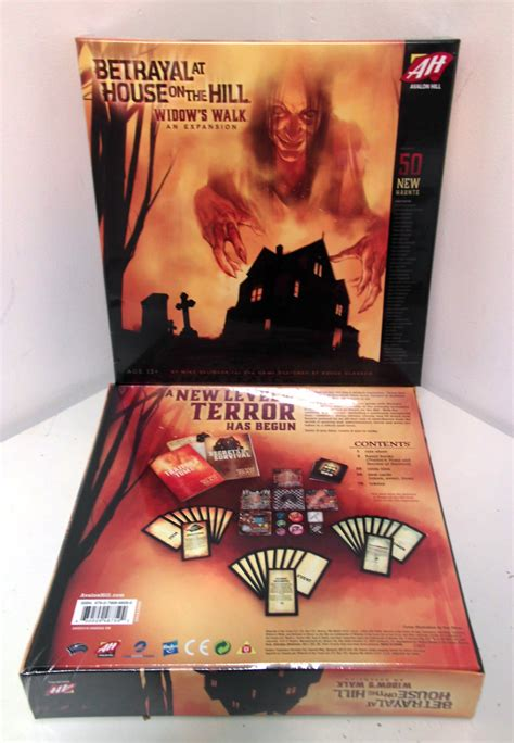 Betrayal At House On The Hill Widow S Walk Expansion Board avalon hill meeples corner
