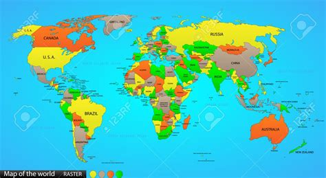 simple world map with country names thinklink disasters thinglink