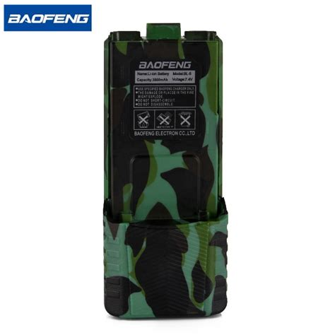 Taffware Walkie Talkie Extended Battery 3800mah Bl 5 For Baofeng baofeng uv 5r camouflage walkie talkie battery bl 5