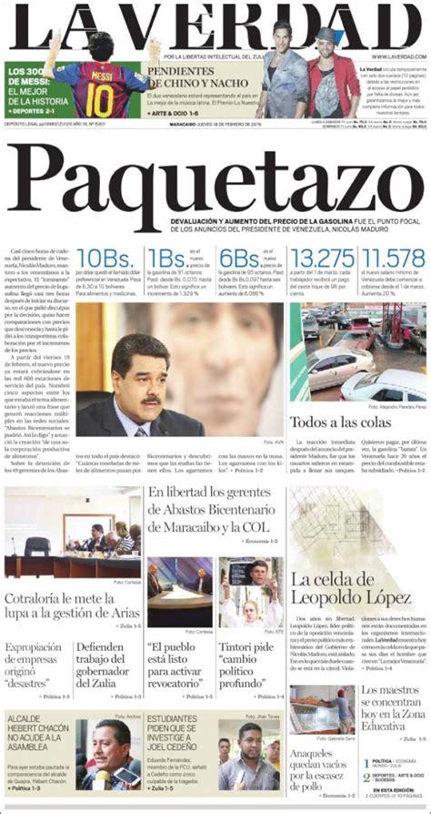 diario la verdad as 237 amanecen los titulares de la prensa regional tras