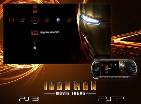 psp animated themes iron man theme for ps3 and psp by alphathon on deviantart