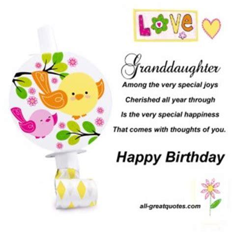 Happy Birthday Granddaughter Quotes Happy Birthday Granddaughter Quotes Quotesgram