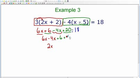 Distributive Property Solving Equations Worksheet by Distributive Property Solving Equations Worksheet
