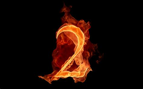 Fiery Number 2 Stock Photos The Fiery Numbers Picture 2 Wallpapers Hd Wallpapers 73643