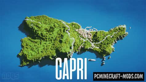 capri island map  minecraft   pc java mods