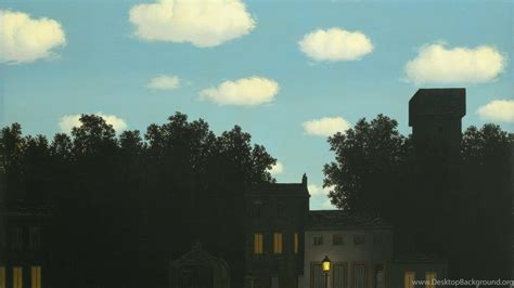 rene magritte desktop background