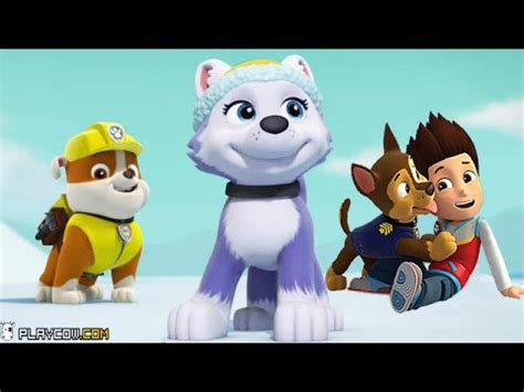 Paw patrol rescue run new member everest downtown run ios iphone