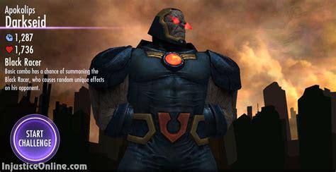 injustice gods among us mobile injustice gods among us mobile apokolips darkseid