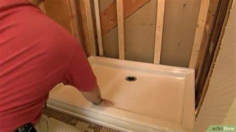 montare doccia come montare un piatto doccia 10 passaggi illustrato