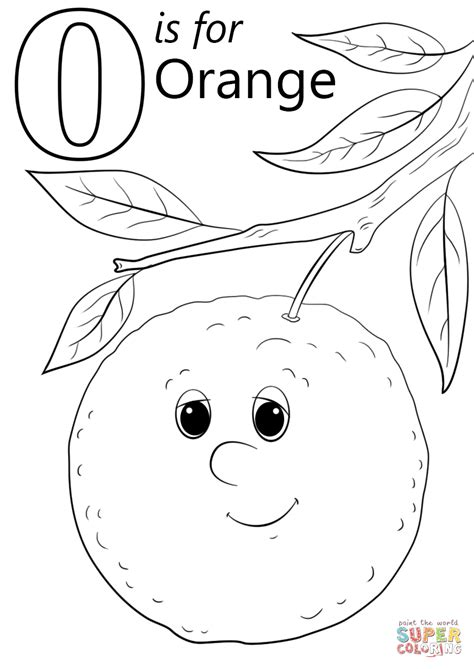 Letter 0 Coloring Pages by Excellent Letter O Coloring Sheet Sheets 0 On Pages