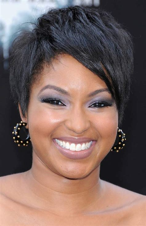 black ladies with round face hair style short hairstyles for black women sexy natural haircuts