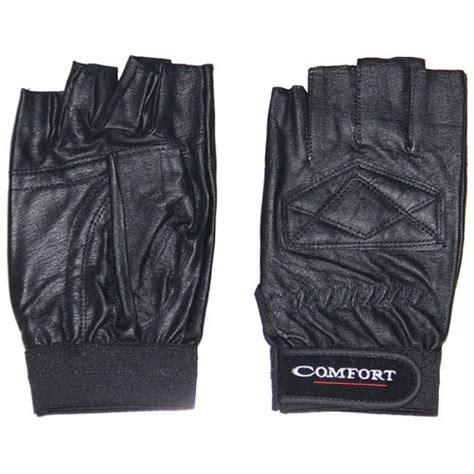 Terlaris Sarung Tangan Sepeda Finger Anti Slip Murah jual comfort kulit half finger hitam murah bhinneka