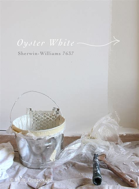 sherwin williams oyster white oyster white my new favorite paint color white gunpowder