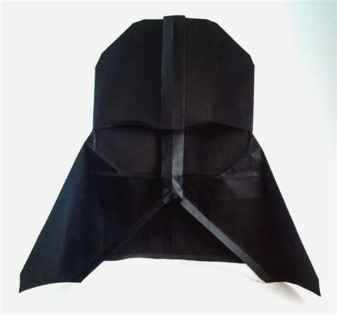 Origami Darth Vader - wars origami by chris book review gilad s