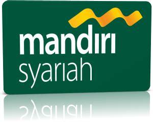 bank mandiri syariah logo vector