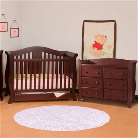 storkcraft avalon 6 drawer dresser cherry storkcraft 2 piece nursery set vittoria convertible crib