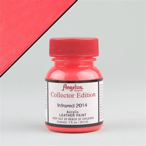 angelus paint infrared angelus leather paint collector edition 1oz infrared