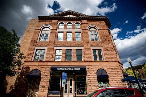 wheeler opera house wheeler opera house s largest revenue source in voters