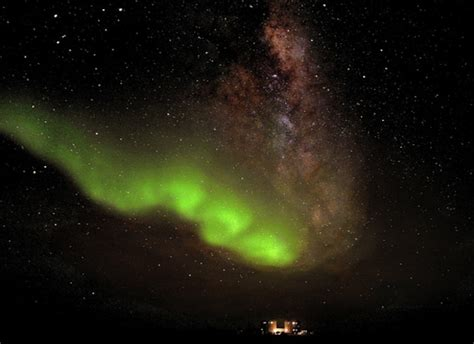 What Are The Southern Lights Called by Beautiful Photo Shows The Southern Lights Antarctica