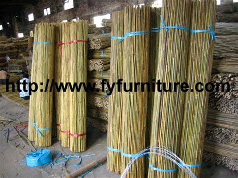 rolled bamboo poles fencesolid bamboo fence rollid