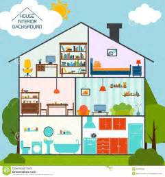 Home Interior Vector House Interior Background Stock Vector Image 40781828