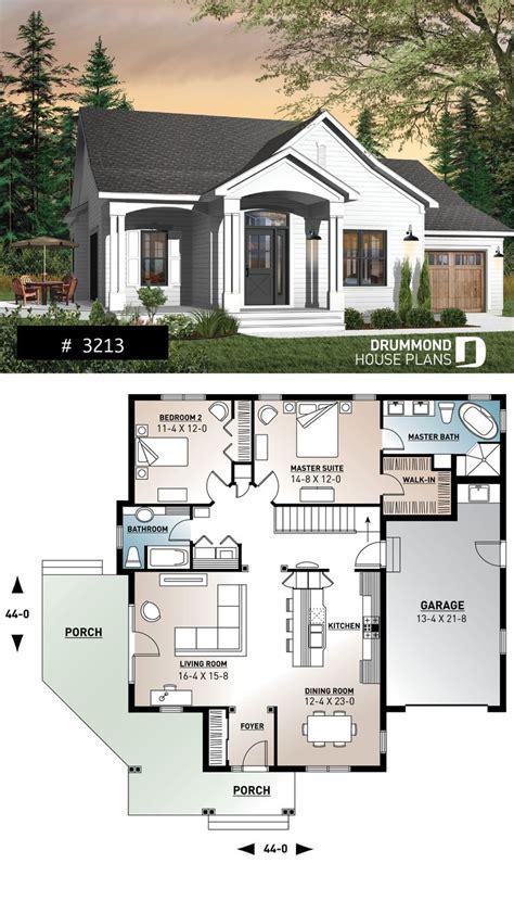 plans maison en   large master suite ranch