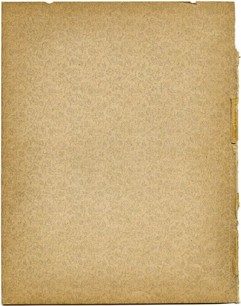 Book Paper - free vintage image aged patterned endpaper design