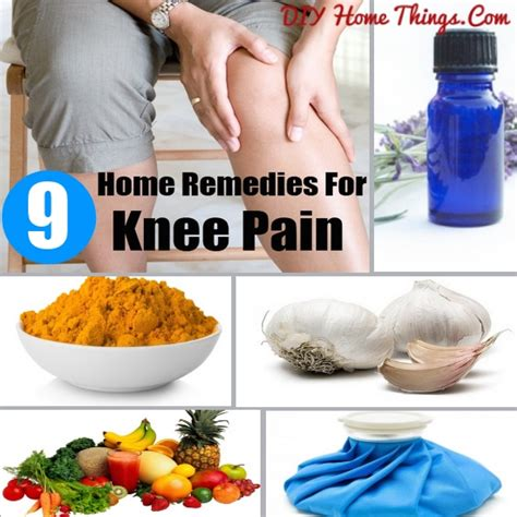 easy home remedies for knee diy home things