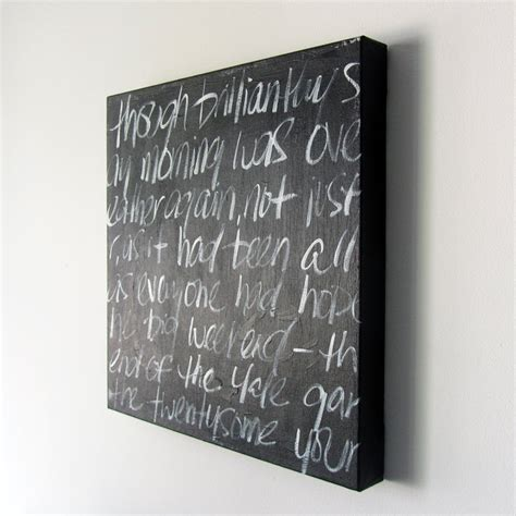 chalkboard paint quotes spray a canvas with chalkboard paint and viola can t wait