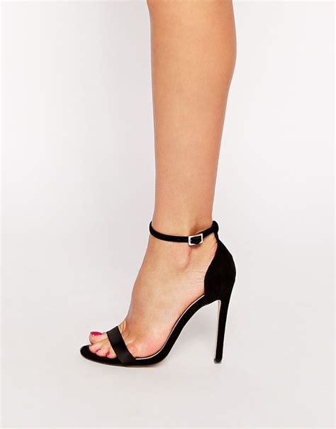 halcyon heeled sandals fra asos wishes